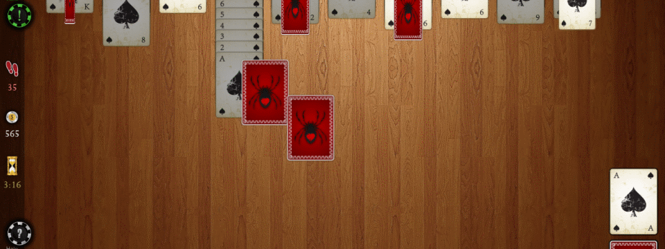 Spider Solitaire HD for Win8 UI  full